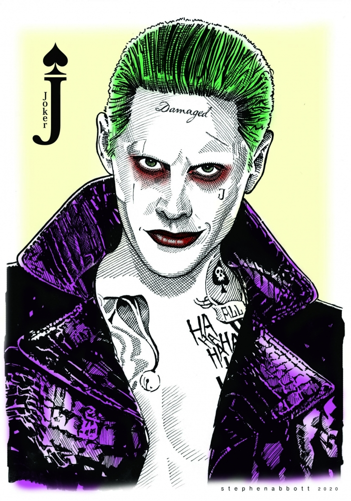 Jared Leto by Stefanosart